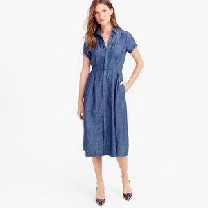 New ❗️Jcrew denim dress size 0